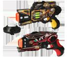 Lasergamepistolen te huur bij totalFUN EDE