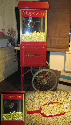 Popcorn machine te huur bij totalFUN - 06 168 941 73