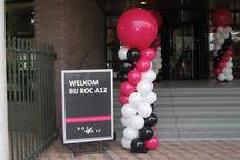 Ballonnenpilaren voor open dagf ROC A12
